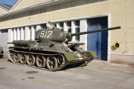 Le T34-85 russe DR Saumur
